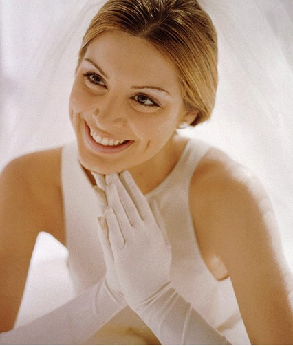 styles of wedding gloves if you desire to choose for your wedding dress