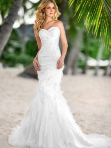 beach wedding dress bc133