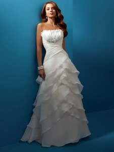 beach wedding dress style bc186