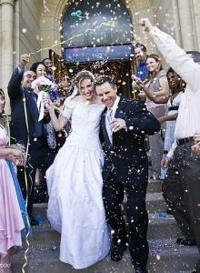 church wedding dress