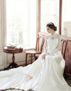 plus-sized wedding dress