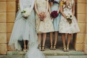 unusual bridesmaid dresses