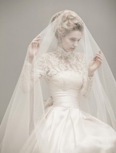 wedding dress with sleeves