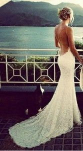 cheap beach wedding dress