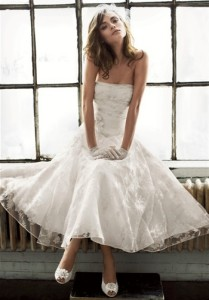 simple short wedding dresses