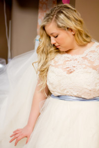 plus sized wedding gown