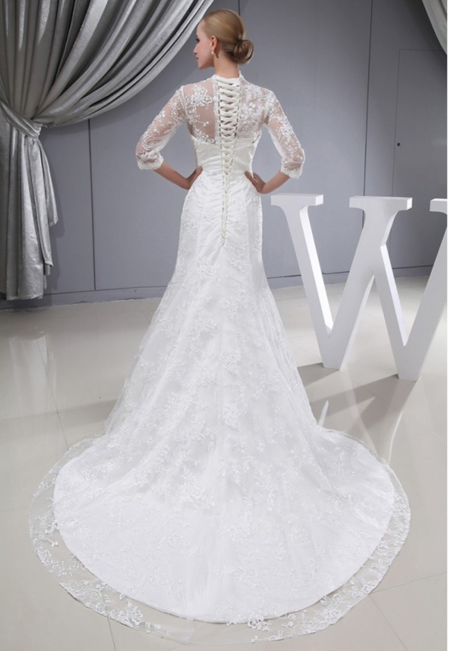 How To Wear Corset Back Wedding Dresses
