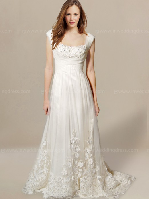 Simple Beach Wedding Dresses Bc207 Inweddingdress