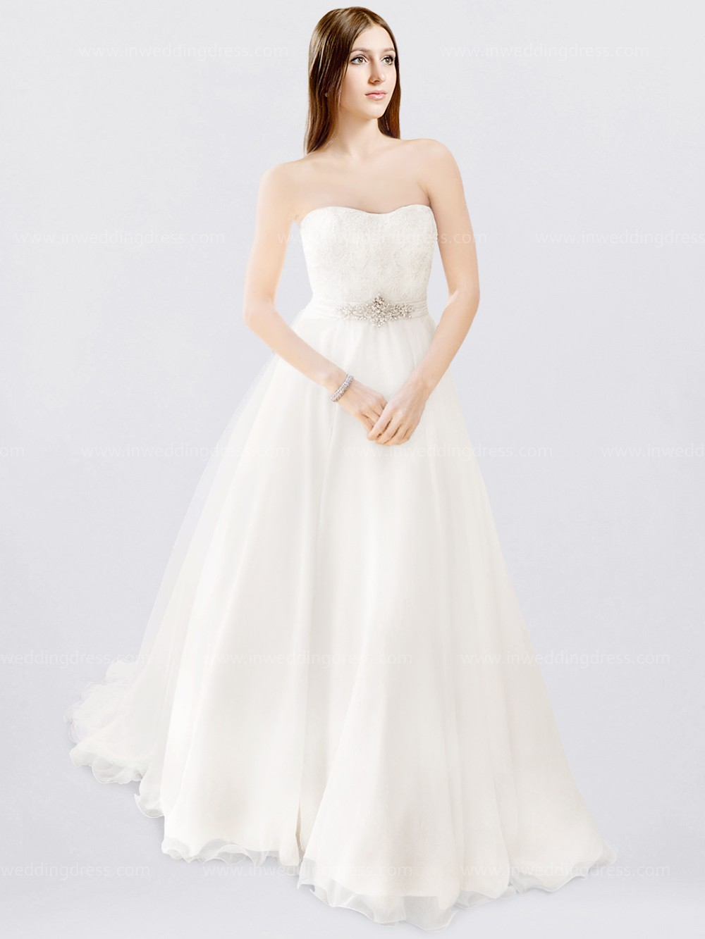 Corset Ball Gown Wedding Dress $239