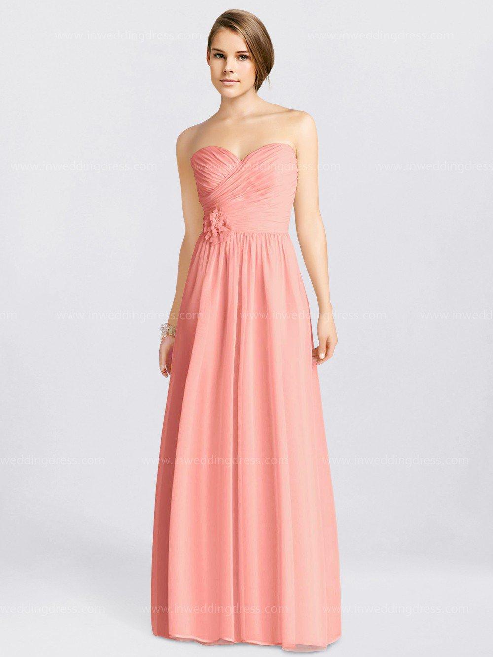 Modest Chiffon Sweetheart Wedding Party Dress Australia