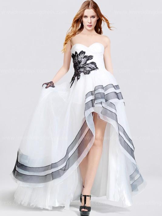 Unique high low prom dresses