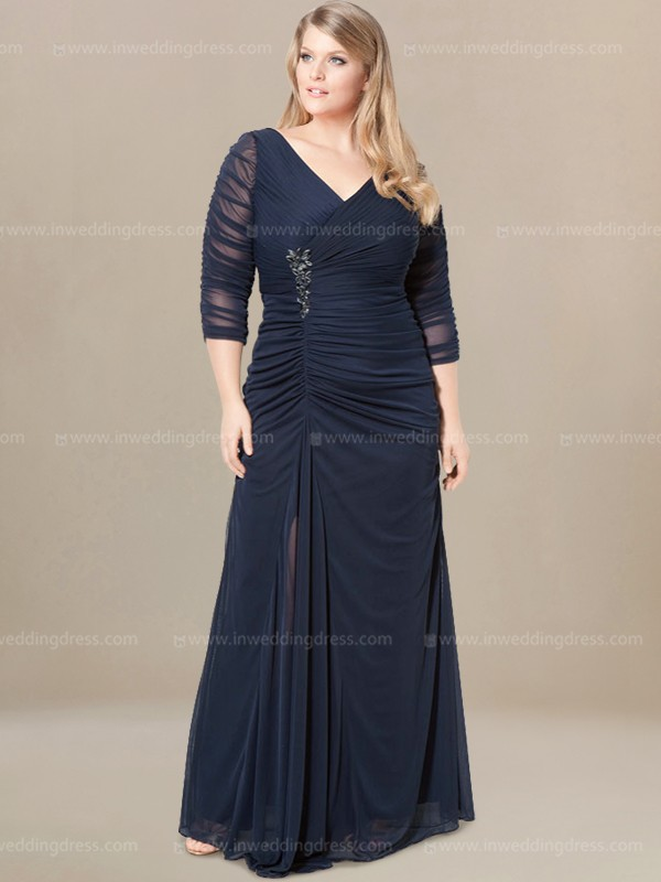 Plus Size Mother of Bride Dress MO289 (SALE)