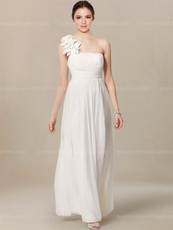 Casual beach wedding dress bc298 inweddingdress for Casual flower girl dresses for beach wedding