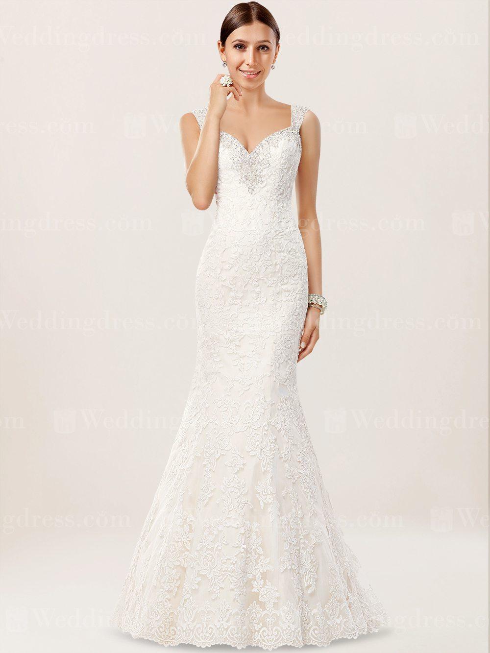 Großartig öffnen Zurück Spitze Hochzeitskleid Zeitgenössisch ...
