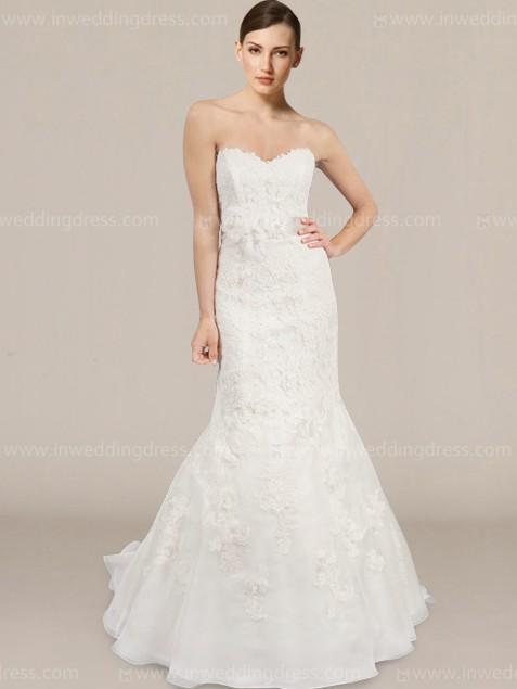 2e50c60d260b Strapless Mermaid Style Wedding Dress $269