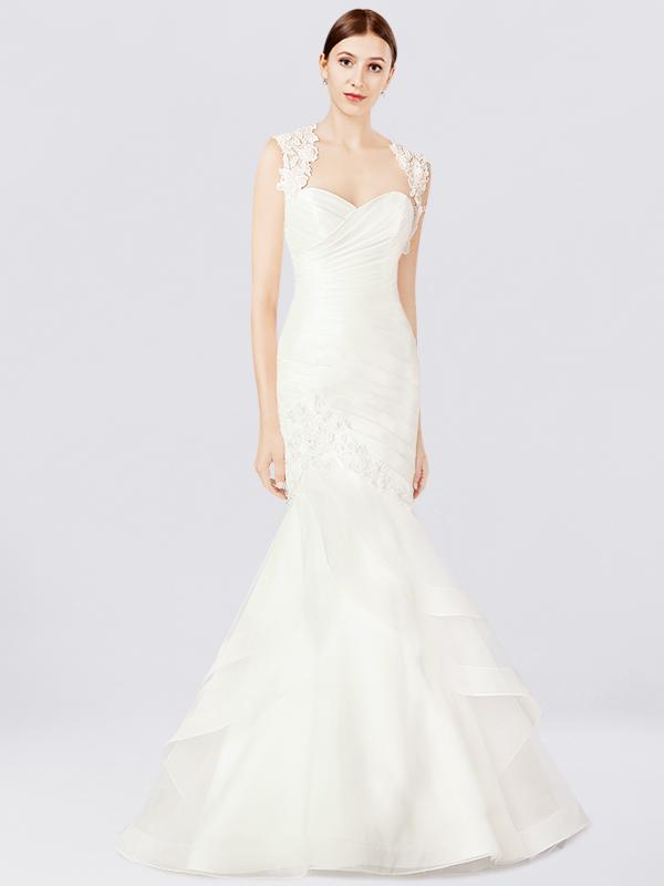 Mermaid style wedding dress au294 junglespirit Image collections