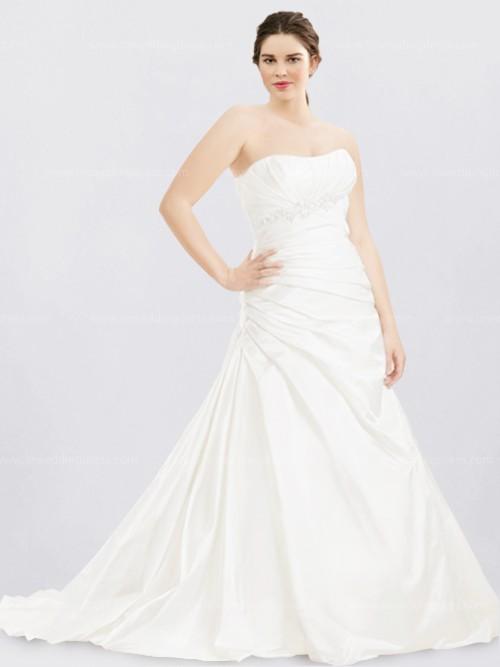 Plus Size Destination Bridal Gown Ps035