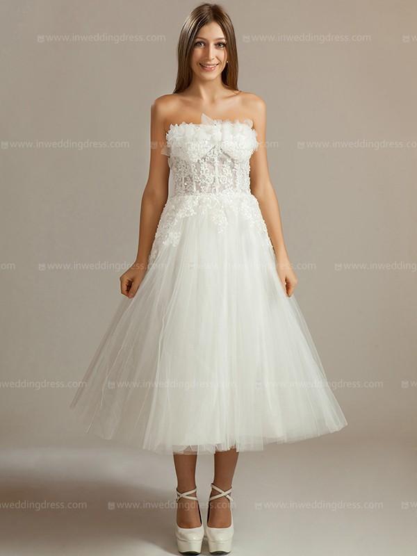Short Beach Wedding Dresses A 233